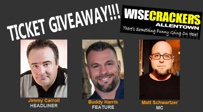 Ticket Giveaway… Don't miss out on a hilarious weekend of comedy!!!
