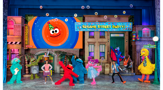 Sesame Street Live! Let's Party! Coming to PPL Center for All-New, Interactive Stage Production