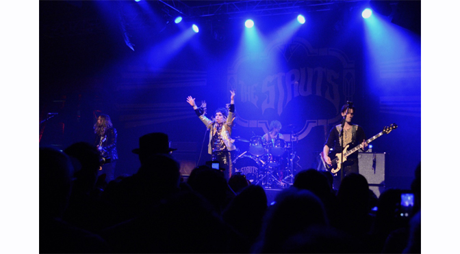 THE STRUTS DELIVERED A HIGH ENERGY SHOW TO A SOLD OUT MUSIKFEST CAFÉ – Review & Photographs by Diane Fleischman