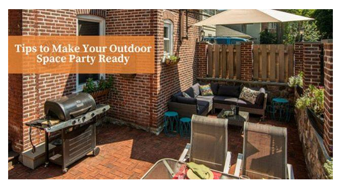 Tips to Make Your Outdoor Space Party Ready – by Carrie Oesmann