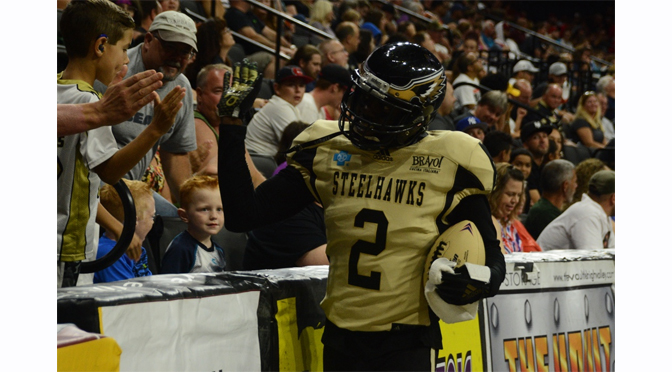 STEELHAWKS FALL TO COBRAS BITE 28-78 – Review & Photographs by Diane Fleischman