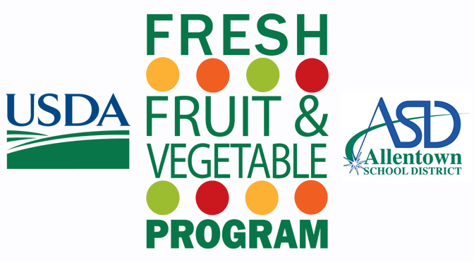 Allentown School District Brings Fresh Fruit and Vegetable Program to Three Elementary Schools