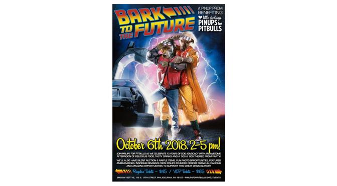 "Pinups for Pitbulls, Announces ""Bark to the Future"" Fundraiser"