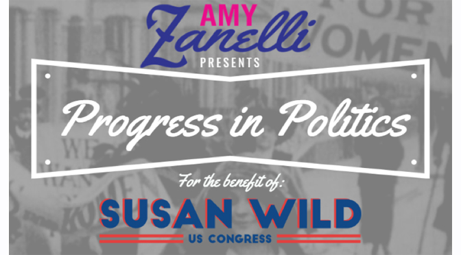 "Amy Zanelli Invites You to ""Progress in Politics"" – September 23, 2018  in Allentown"