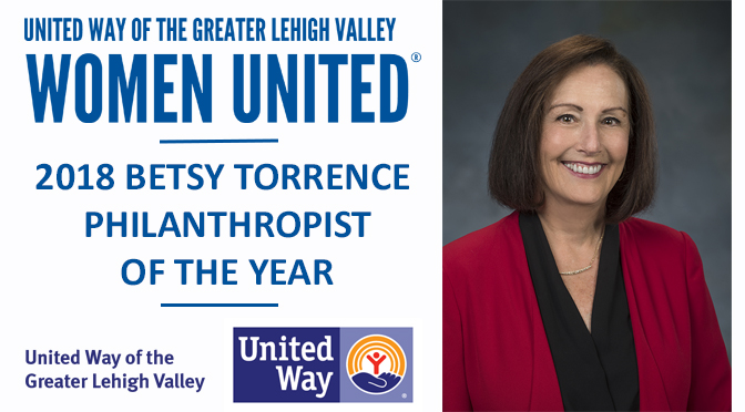 Women United Honors Valerie Lane as  2018 Betsy Torrence Philanthropist of the Year