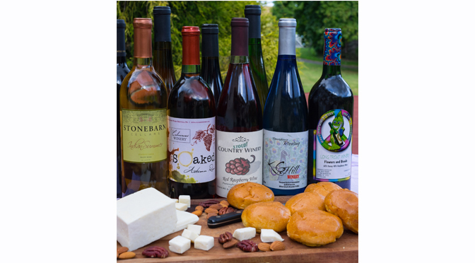 TICKETS ON SALE NOW!   Local Cheeses Paired with Local Wine