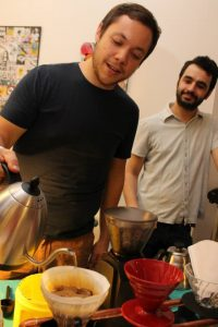 Monocacy Coffee Co. owners Matthew Hengeveld (left) and Daniel Taylor (right)