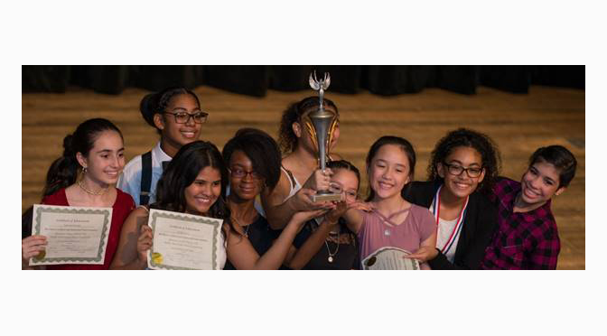 7th Annual Latin Dance Competition  Features 60 Students from 4 Middle Schools
