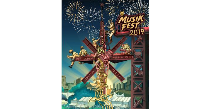 Linny Award Winner Jessica Bastidas Creates 2019 Musikfest Poster