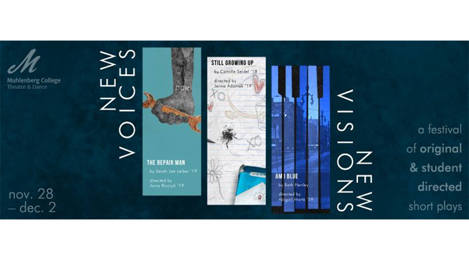 'New Voices / New Visions' festival  showcases talents of female  student directors & playwrights