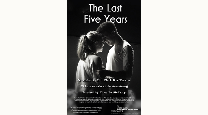 Student-run theatre company's production of The Last Five Years opens this week