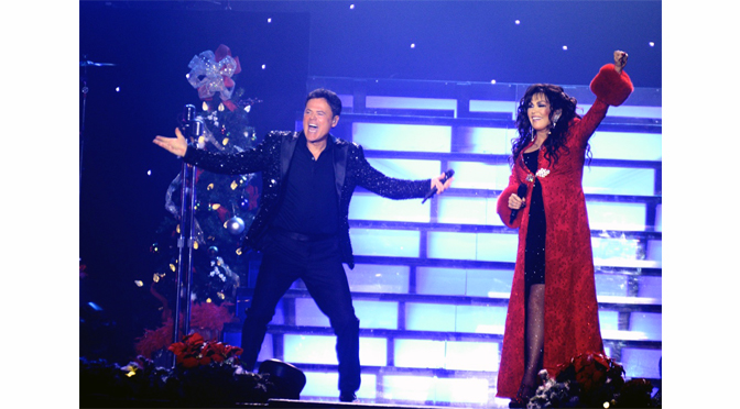 THE DONNIE AND MARIE CHRISTMAS SHOW JINGLED ALL THE WAY – by Diane Fleischman