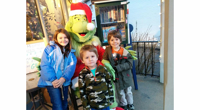 LET'S PLAY BOOKS BOOKSTORE HOSTS SEVEN FREE GRINCH EVENTS THIS WEEKEND