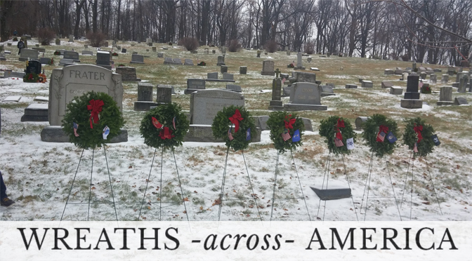 FOUNTAIN HILL CEMETERY WREATHS ACROSS AMERICA, December 15, 2018