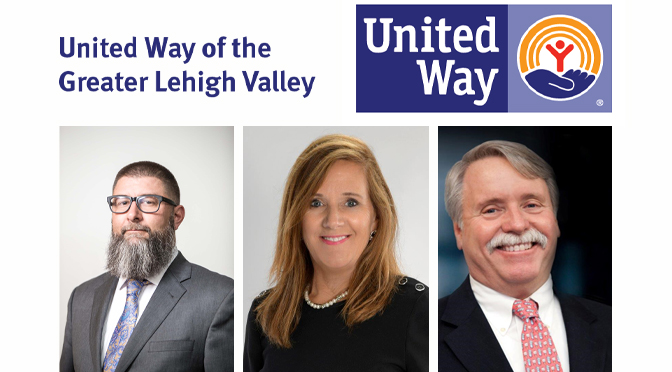 New Members Join United Way of the Greater Lehigh Valley's Board of Directors