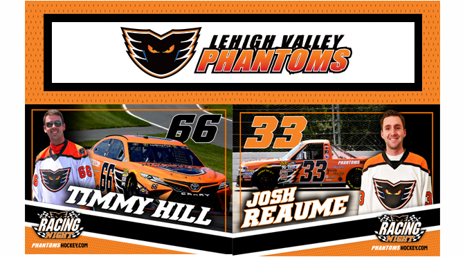 Special Appearances Highlight Phantoms Racing Night on January 25th