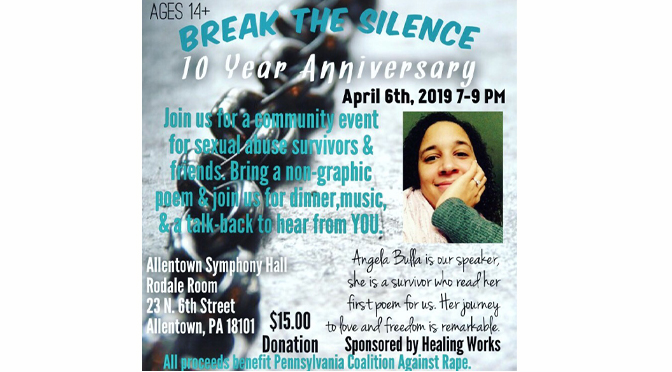 10 Years of Break the Silence for #MeToo Locals