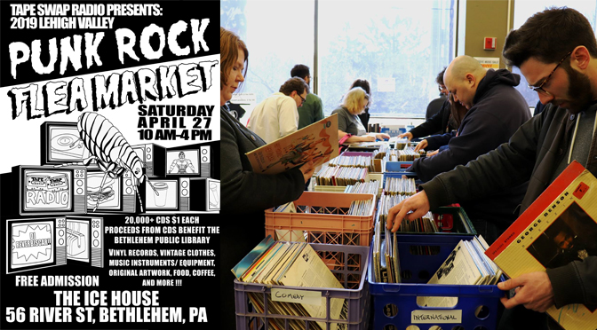 Lehigh Valley Punk Rock Flea Market Returns for Its Second Year with a Massive 20,000+ CD Sale