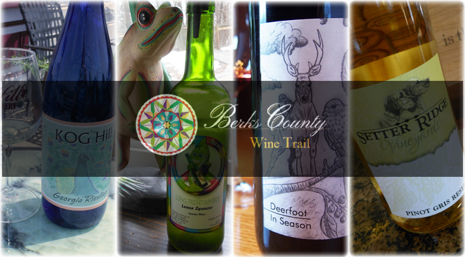 Uncork A Taste of Spring! Berks County Wine Trail New Release Weekend Event