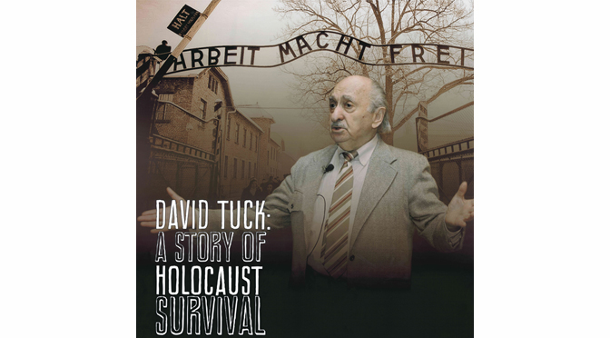 Holocaust Survivor David Tuck to Speak at SteelStacks on Holocaust Remembrance Day May 2