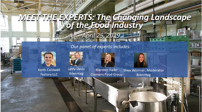 Council for Retail and Sales hosts event about changing landscape of the food industry