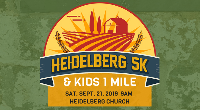 2nd ANNUAL HEIDELBERG 5K INCLUDES KIDS 1 MILE