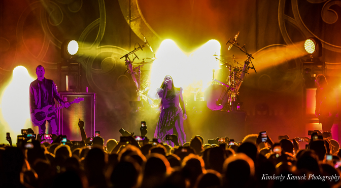 Photos from Evanescence at the Sands Bethlehem Event Center – by: Kimberly Kanuck