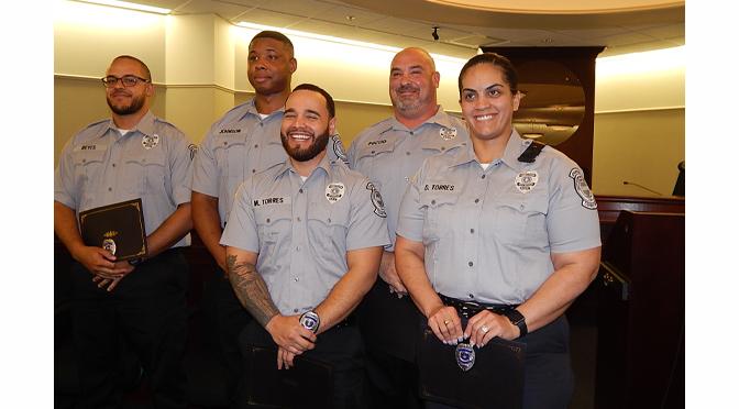 Northampton County Corrections Officers Graduation Ceremony