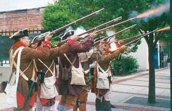 Patriot Sunday Rifle Salute