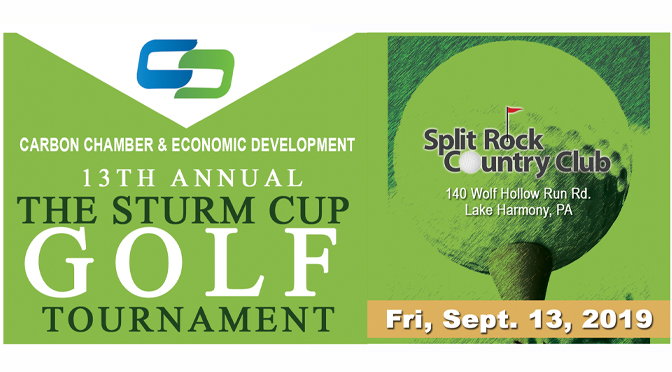 "Register Now for the CCEDC's 13th Annual ""Sturm Cup"" Golf Outing"