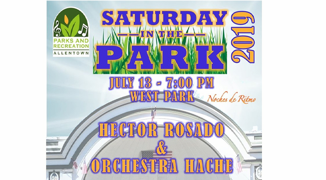 HECTOR ROSADO PERFORMS AT WEST PARK