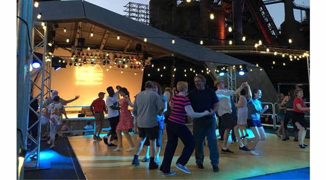 Levitt Pavilion News Release: Southside Swing at SteelStacks Returns with Free Swing Lessons and Live Music July 18-20