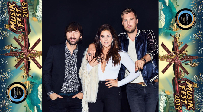 Lady Antebellum lit up the Wind Creek Steel Stage at Musikfest |   Review by Victoria Durgin