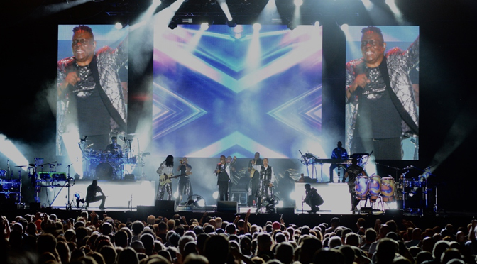 EARTH WIND & FIRE OPEN MUSIKFEST WITH HIGH ENERGY  | Story & Photographs by Diane Fleischman