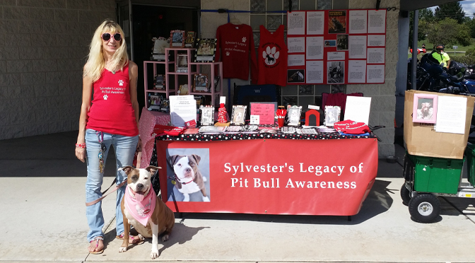 SYLVESTER'S LEGACY OF PITBULL AWARENESS was at The Pipes 4 Paws Charity Ride