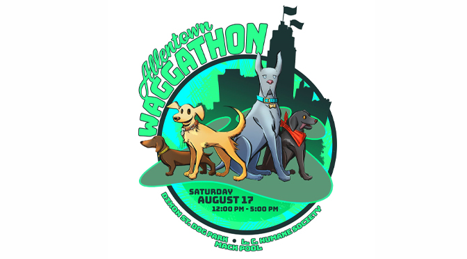WAGGATHON SATURDAY AT ALLENTOWN DOG PARK