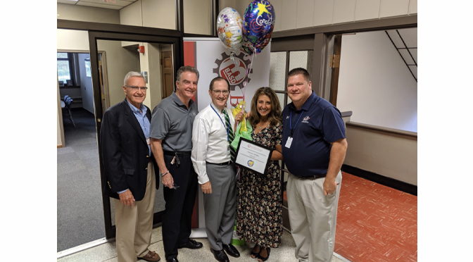 BASD ANNOUNCES EMPLOYEE OF THE MONTH Charisse Pfeiffer