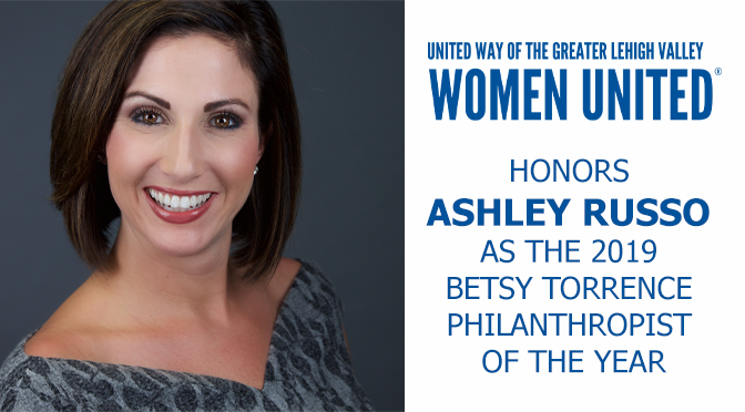 Women United Honors Ashley Russo as the 2019 Betsy Torrence Philanthropist of the Year