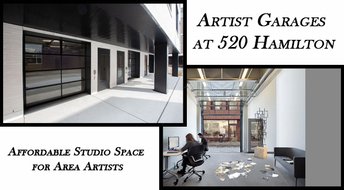 "City Center & ArtsQuest Announce ""Artist Garages at 520 Hamilton"" in Downtown Allentown"