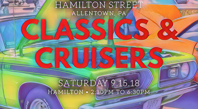 CLASSICS & CRUISERS ON HAMILTON EVENT ON SATURDAY