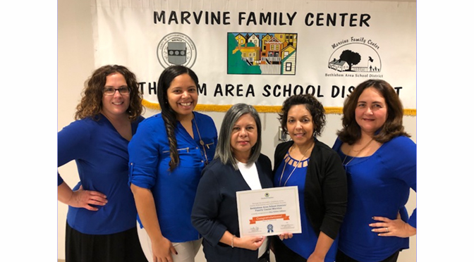 MARVINE FAMILY CENTER RECEIVES NATIONAL RECOGNITION AS A BLUE RIBBON AFFILIATE