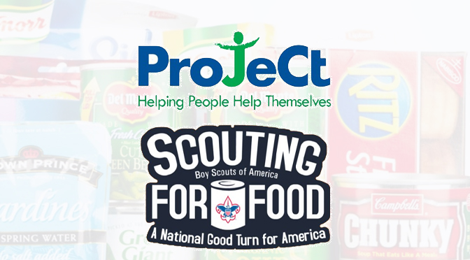 ProJeCt of Easton, Inc. Accepting Donations for Scouting for Food