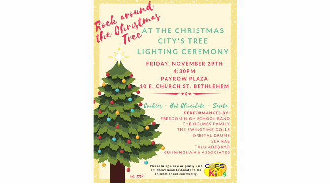 Christmas City To Hold Annual Tree Lighting Ceremony on Black Friday