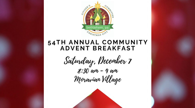 Chamber to Host 54th Annual Advent Breakfast
