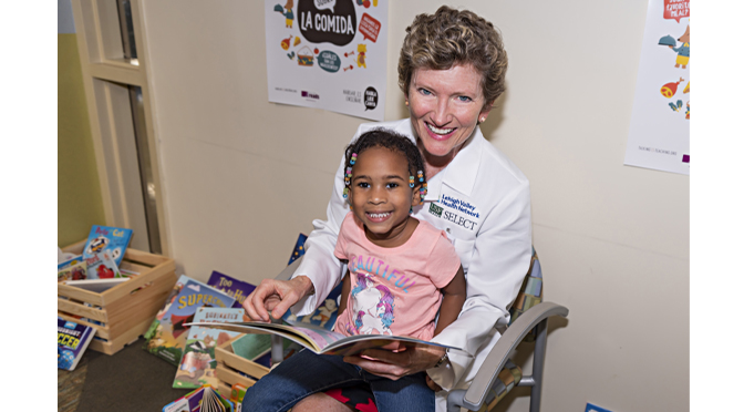 Lehigh Valley Health Network and United Way of the Greater Lehigh Valley Give Families Tools to Talk, Read, Sing