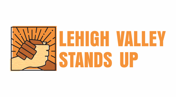 SATURDAY: Bonfire in Center City Allentown for Lehigh Valley Stands Up