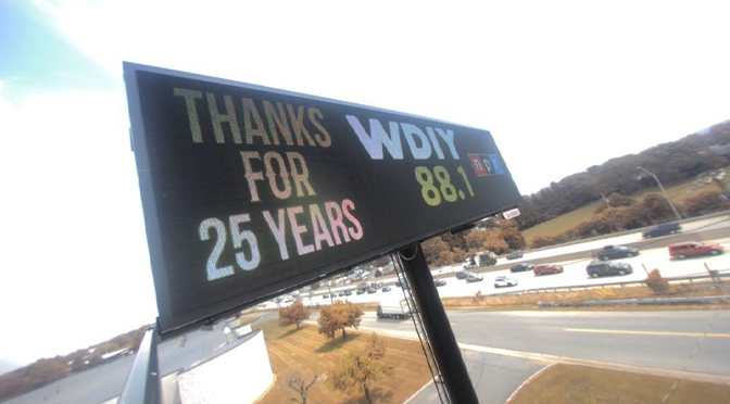 WDIY-FM Celebrates 25th Anniversary; Craig Thatcher Band to Play Birthday Bash