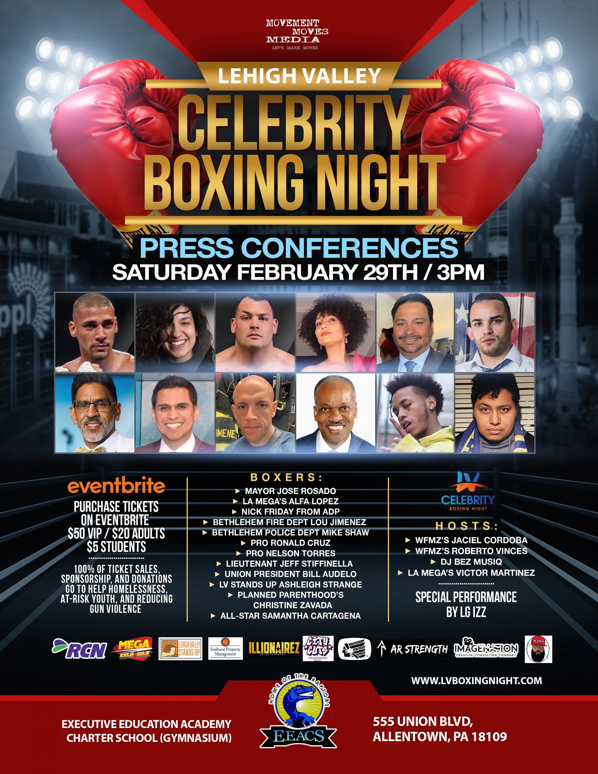Inaugural Lehigh Valley Celebrity Boxing Night The Valley Ledger