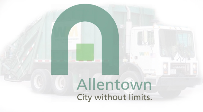 ALLENTOWN – BULK ITEM CURBSIDE COLLECTION SUSPENDED