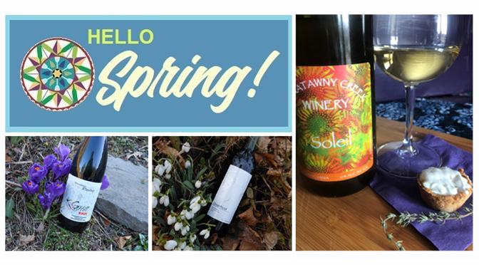 Hello Spring! New Wine Releases